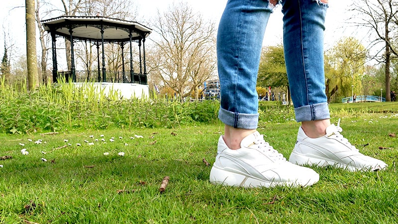 hippe witte sneakers