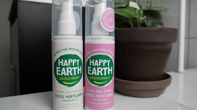 deodorant spray happy earth