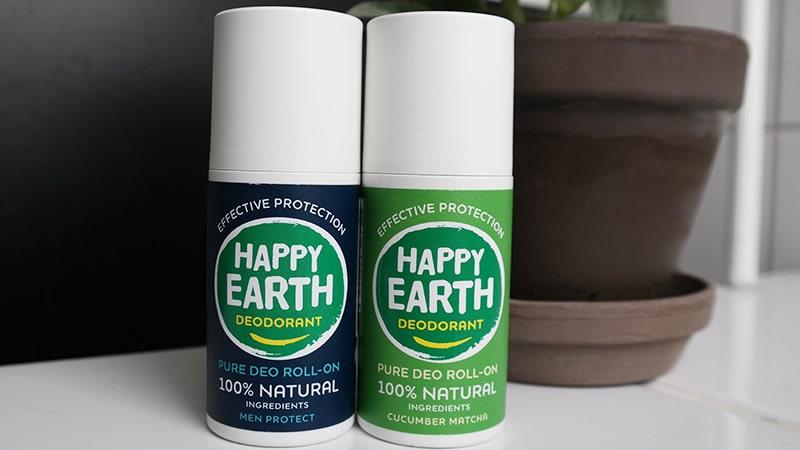 happy earth deodorant roller