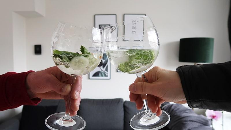 proosten gin tonic