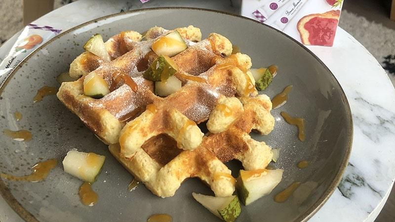 wafels maken lunch ontbijt bonne maman