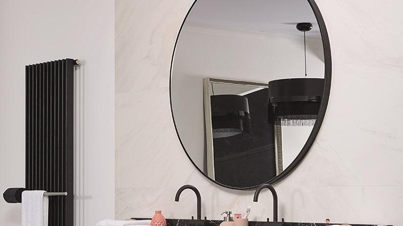 droombadkamer ronde spiegel