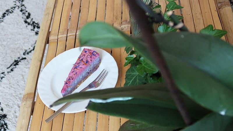 rainbow cake piece of joy