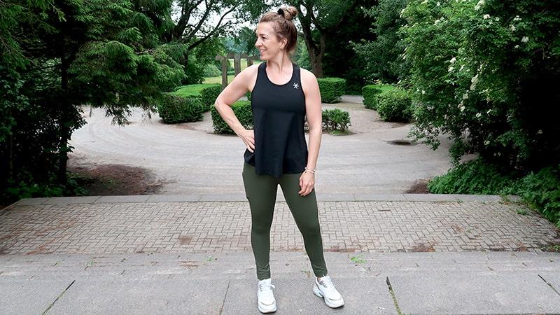 sportlegging dames fitness