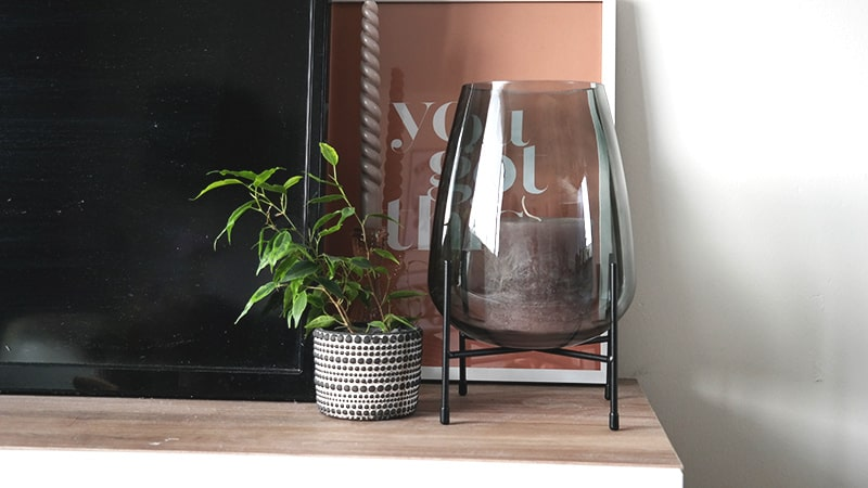 glazen vaas interieur accessoires