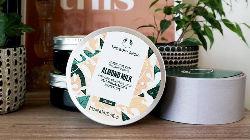 almond millk body butter
