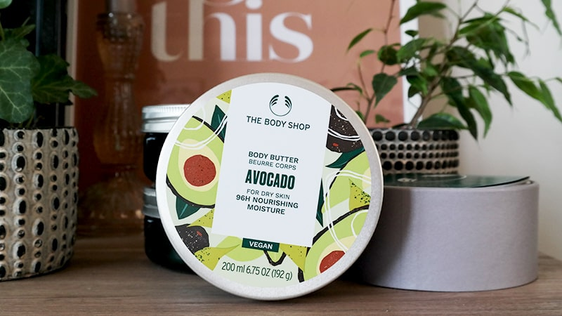 the body shop body butter avocado